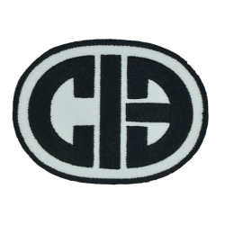 CIB OVAL PATCH