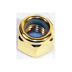 GOLD AXLE LOCK NUT 7 MM